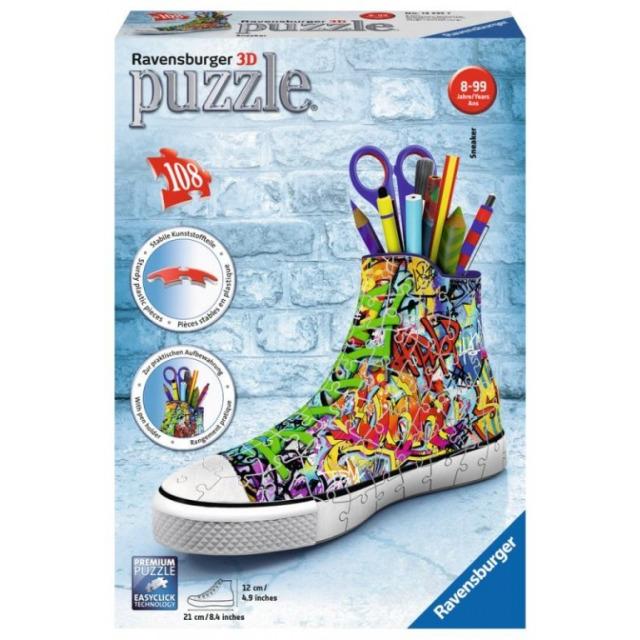 Obrázek produktu Ravensburger 12535 Puzzle 3D Kecka Graffiti 108 dílků