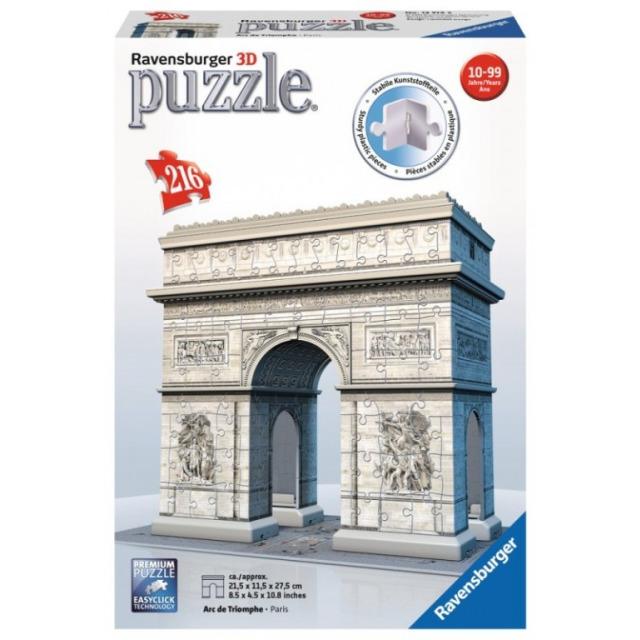 Obrázek produktu 3D Puzzle Vítězný oblouk 216d. Ravensburger