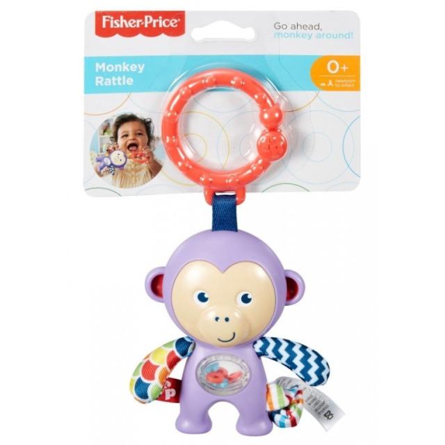 Obrázek produktu Fisher Price Závěsné zvířátko Opička, Mattel DYF91 (FFB64)