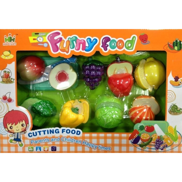 Obrázek produktu Set krájení potravin na suchý zip - ovoce a zelenina