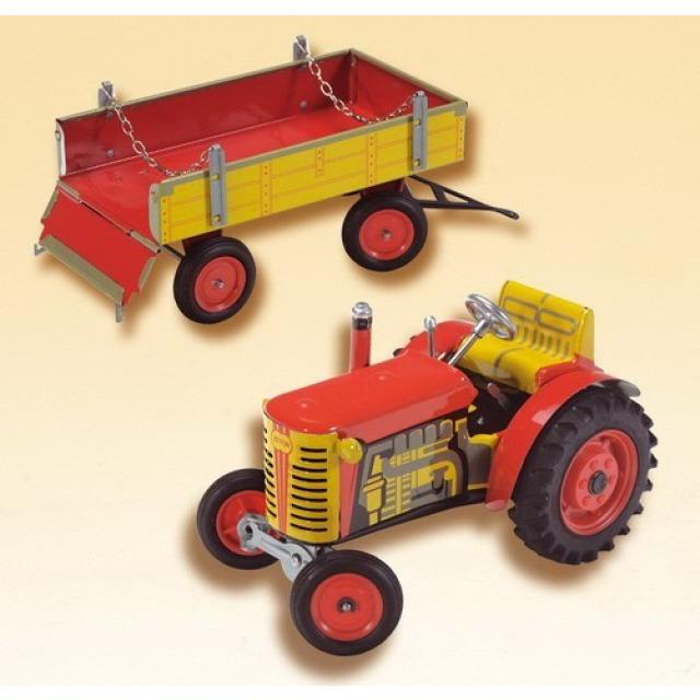 Obrázek produktu KOVAP Traktor Zetor a valník červený