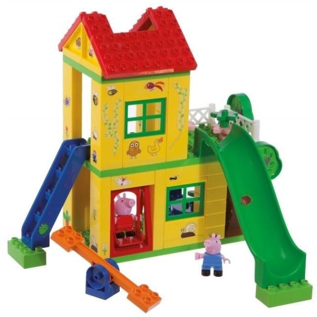 Obrázek produktu PlayBIG Bloxx, Peppa Pig Domeček na hraní