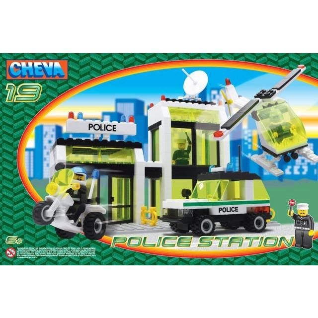 Obrázek produktu CHEVA 19 Policejní stanice, 335 ks