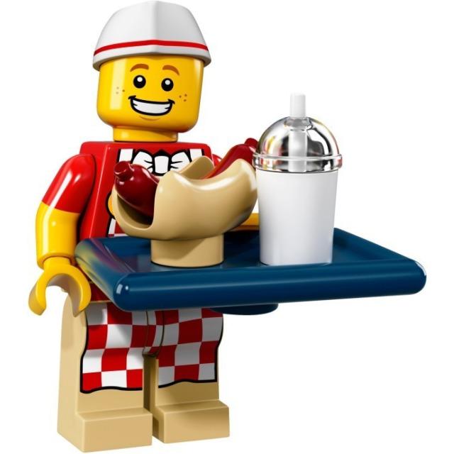 Obrázek produktu LEGO 71018 minifigurka Hot Dog Man
