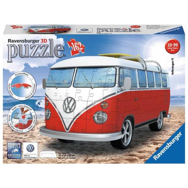 Obrázek produktu Ravensburger 12516 Puzzle 3D VW autobus 162 dílků
