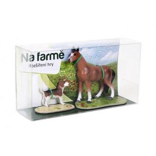 Obrázek 1 produktu Albi Kouzelné čtení rozšíření hry Na farmě hříbě a štěně