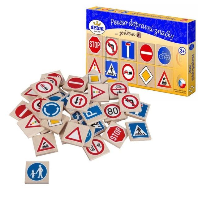 Obrázek produktu Pexeso dopravní značky