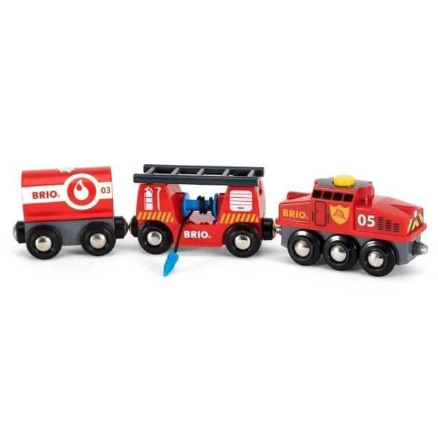 Obrázek produktu BRIO 33844 Hasičský záchranářský vlak