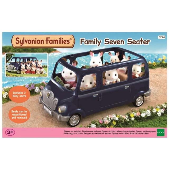 Obrázek produktu Sylvanian Families 5274 Rodinné auto modré