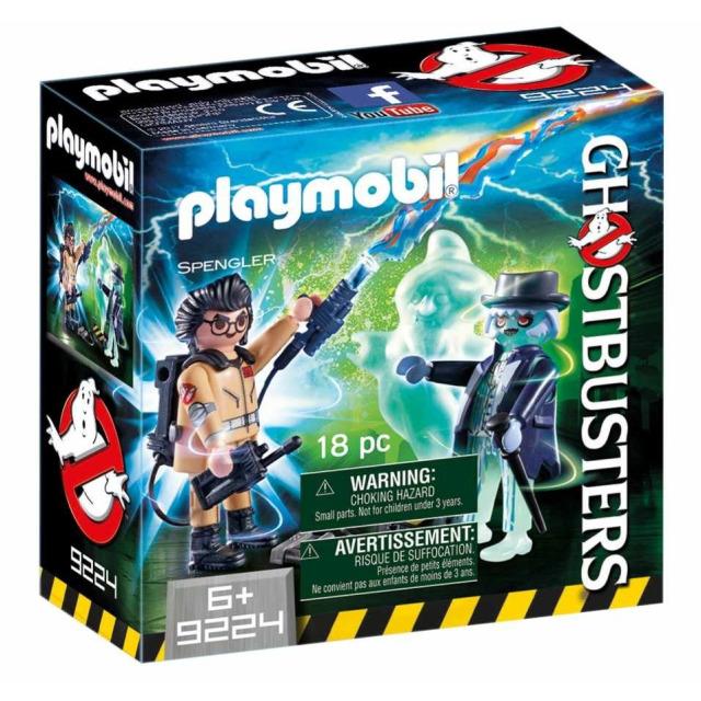 Obrázek produktu Playmobil 9224 Ghostbusters Spengler a duch