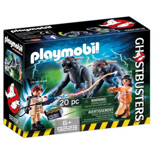 Obrázek produktu Playmobil 9223 Ghostbusters Venkman a psi