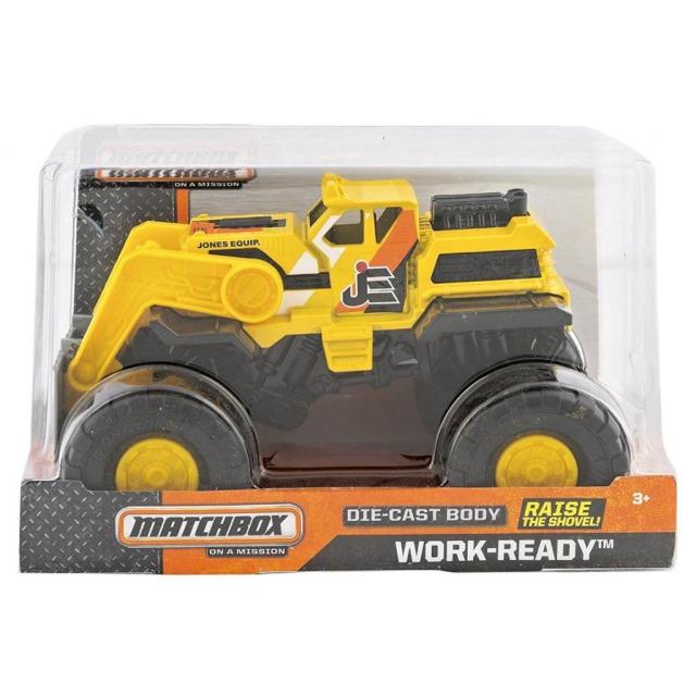 Obrázek produktu Matchbox Velké auto Work-Ready, Mattel BGY72