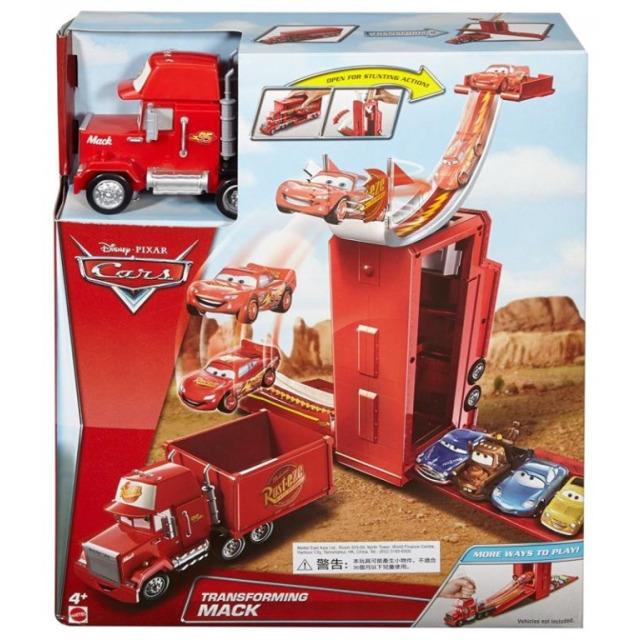 Obrázek produktu Cars Transformující se Mack a skok z věže, Mattel DVF39