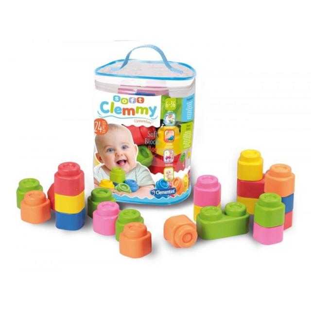 Obrázek produktu Clemmy Baby 24 kostek v plastovém pytli