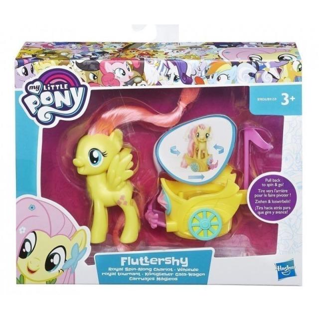 Obrázek produktu MLP My Little Pony Poník s vozíkem Fluttershy, Hasbro B9836