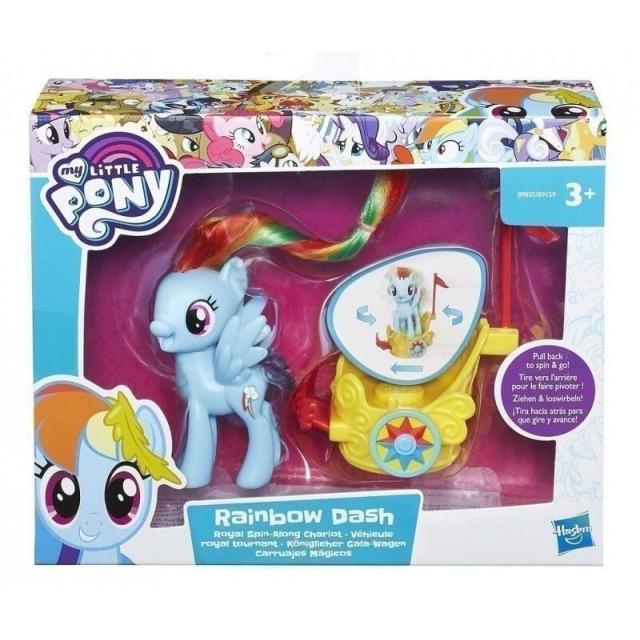 Obrázek produktu MLP My Little Pony Poník s vozíkem Rainbow Dash, Hasbro B9835