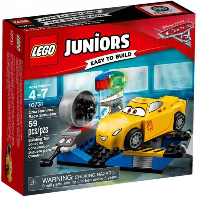 Obrázek produktu LEGO JUNIORS 10731 Závodní simulátor Cruz Ramirezové