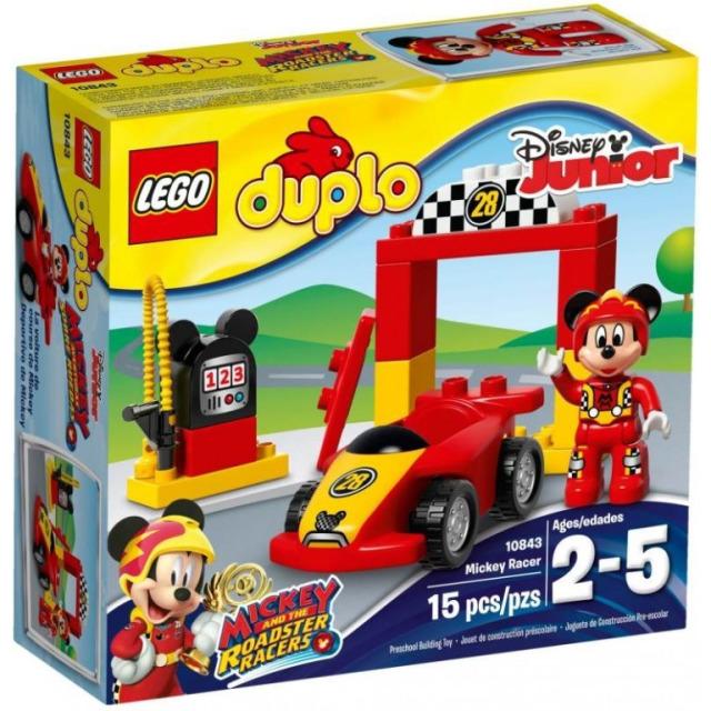 Obrázek produktu LEGO DUPLO 10843 Mickeyho závodní auto