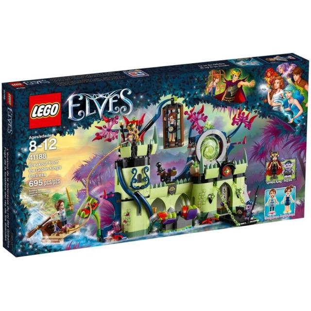 Obrázek produktu LEGO Elves 41188 Útěk z pevnosti Skřetího krále