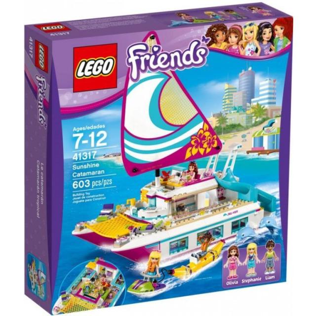 Obrázek produktu LEGO Friends 41317 Katamarán Sunshine