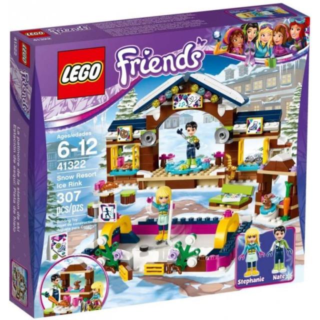 Obrázek produktu LEGO Friends 41322 Kluziště v zimním středisku