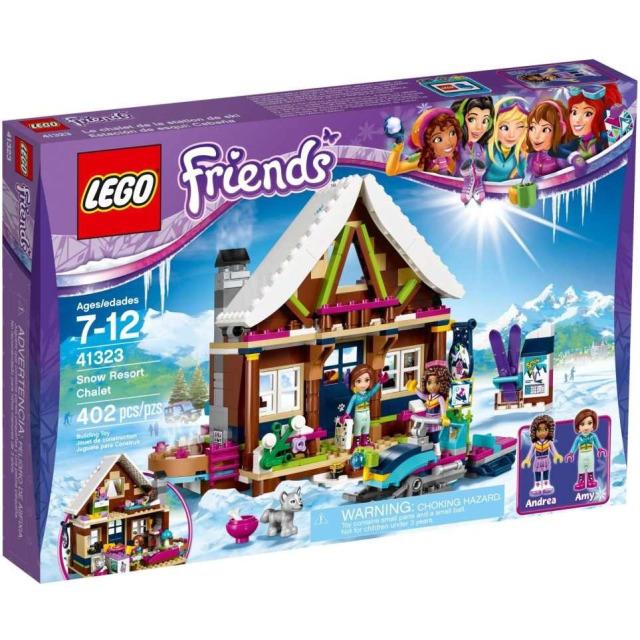 Obrázek produktu LEGO Friends 41323 Chata v zimním středisku