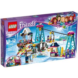 Obrázek 1 produktu LEGO Friends 41324 Lyžařský vlek v zimním středisku