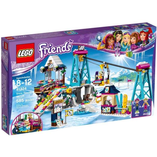 Obrázek produktu LEGO Friends 41324 Lyžařský vlek v zimním středisku
