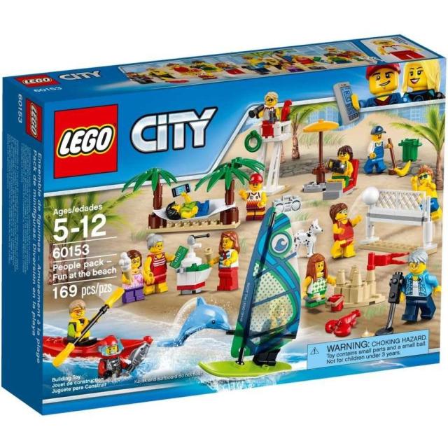 Obrázek produktu LEGO CITY 60153 Sada postav - Zábava na pláži