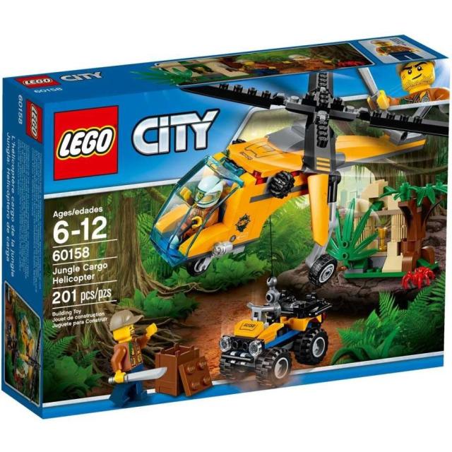 Obrázek produktu LEGO CITY 60158 Nákladní helikoptéra do džungle