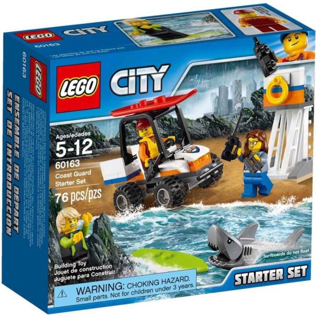 Obrázek produktu LEGO CITY 60163 Pobřežní hlídka - začátečnická sada