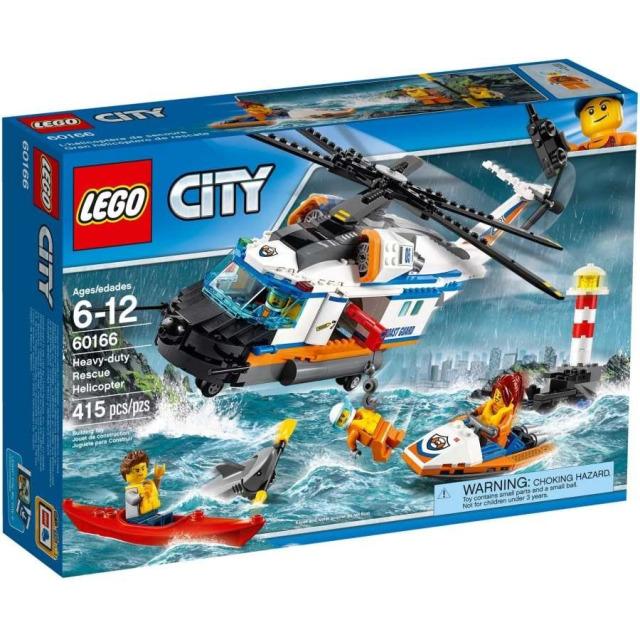 Obrázek produktu LEGO CITY 60166 Výkonná záchranářská helikoptéra
