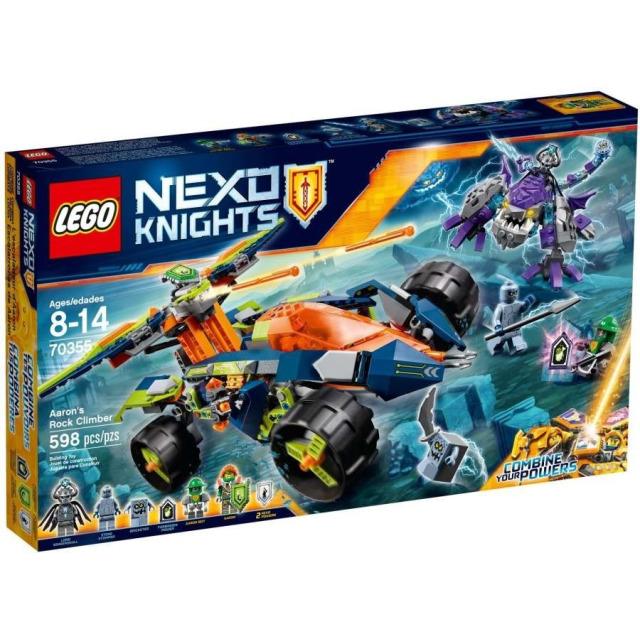 Obrázek produktu LEGO Nexo Knights 70355 Aaronův vůz Horolezec