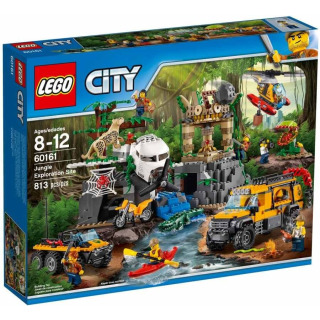Obrázek 1 produktu LEGO CITY 60161 Průzkum oblasti v džungli