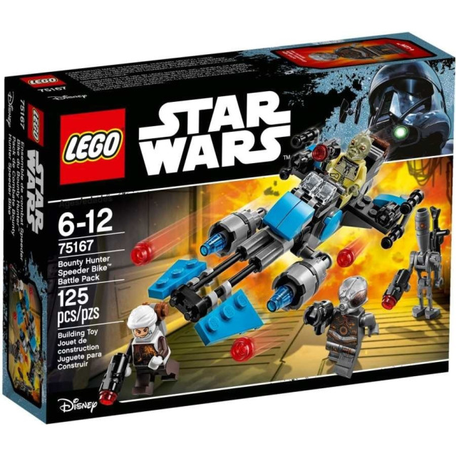 Obrázek produktu LEGO Star Wars 75167 Speederová motorka námezdního lovce