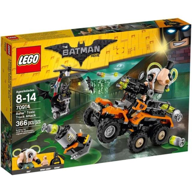 Obrázek produktu LEGO Batman Movie 70914 Bane™ a útok s náklaďákem plným jedů