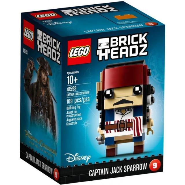 Obrázek produktu LEGO BrickHeadz 41593 Captain Jack Sparrow