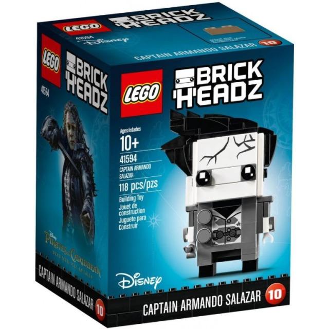 Obrázek produktu LEGO BrickHeadz 41594 Captain Armando Salazar