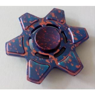 Obrázek 1 produktu Fidget Spinner kov ALU STAR6 fialový
