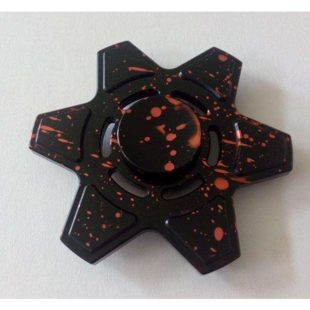 Obrázek produktu Fidget Spinner kov ALU STAR6 černý