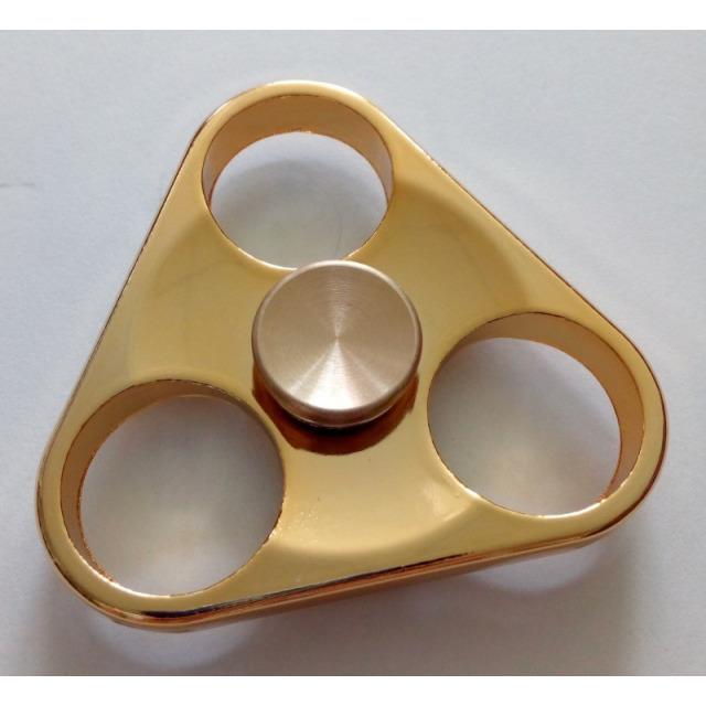 Obrázek produktu Fidget Spinner kov, Triangl zlatý