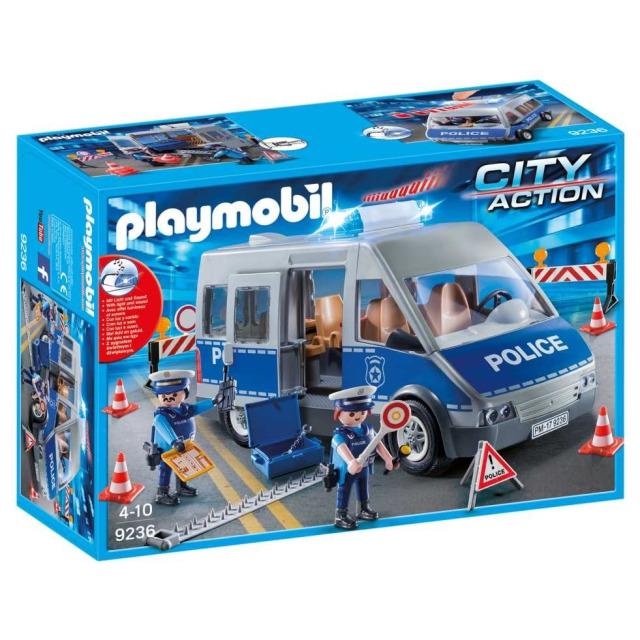 Obrázek produktu Playmobil 9236 Policejní anton se zátarasy