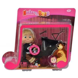 Obrázek 1 produktu Máša a medvěd - Panenka Máša s piánem