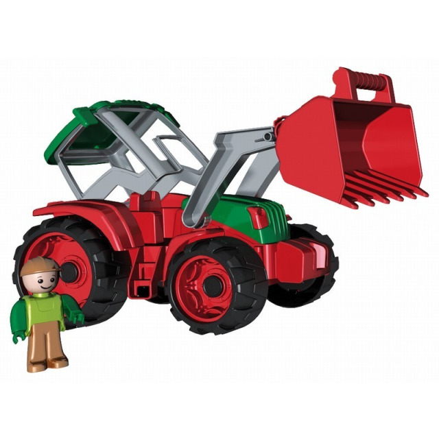 Obrázek produktu Truxx Traktor s radlicí + figurka v krabici
