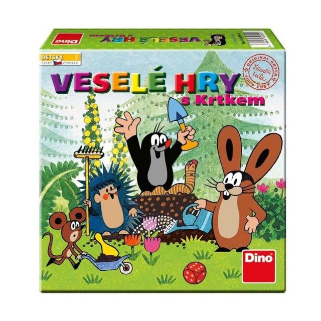 Obrázek produktu Veselé hry s Krtkem, Dino