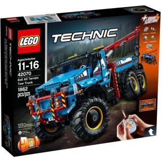 Obrázek 1 produktu LEGO TECHNIC 42070 Terénní odtahový vůz 6x6