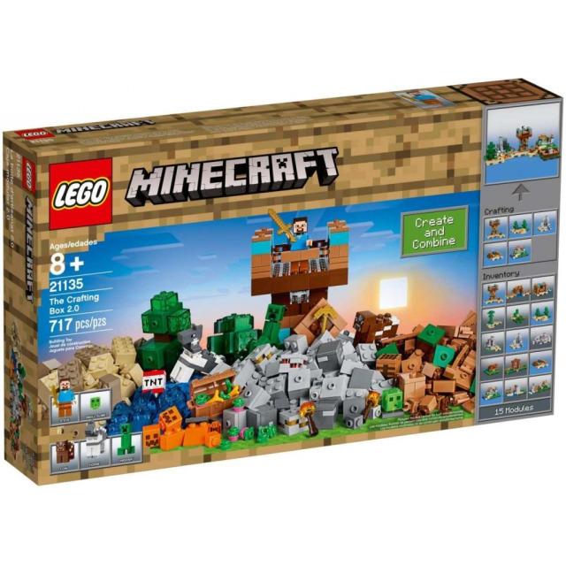 Obrázek produktu LEGO Minecraft 21135 Kreativní box 2.0