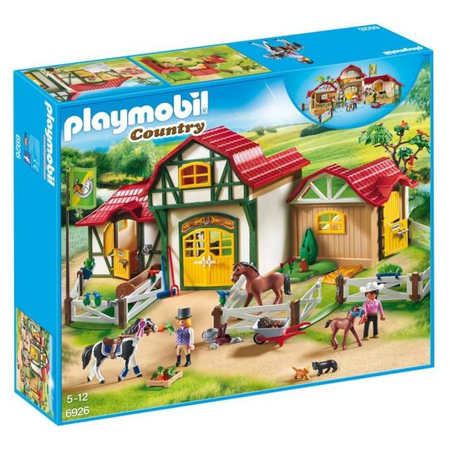 Obrázek produktu Playmobil 6926 Velký ranč pro koně