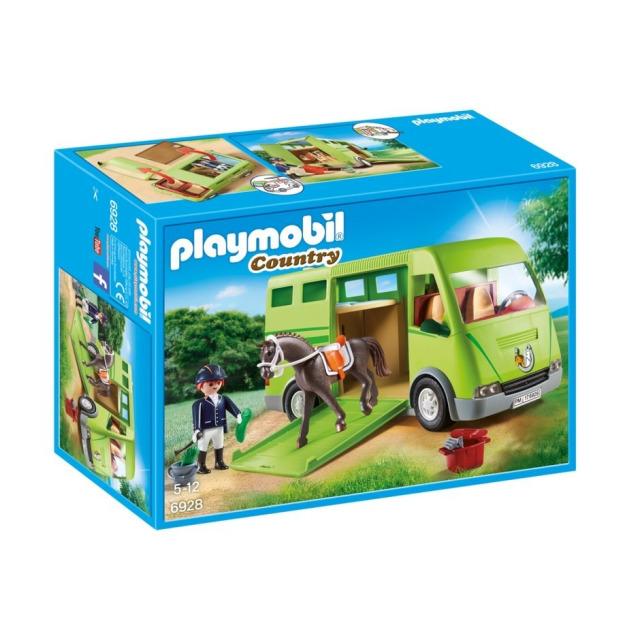 Obrázek produktu Playmobil 6928 Karavan pro převoz koní
