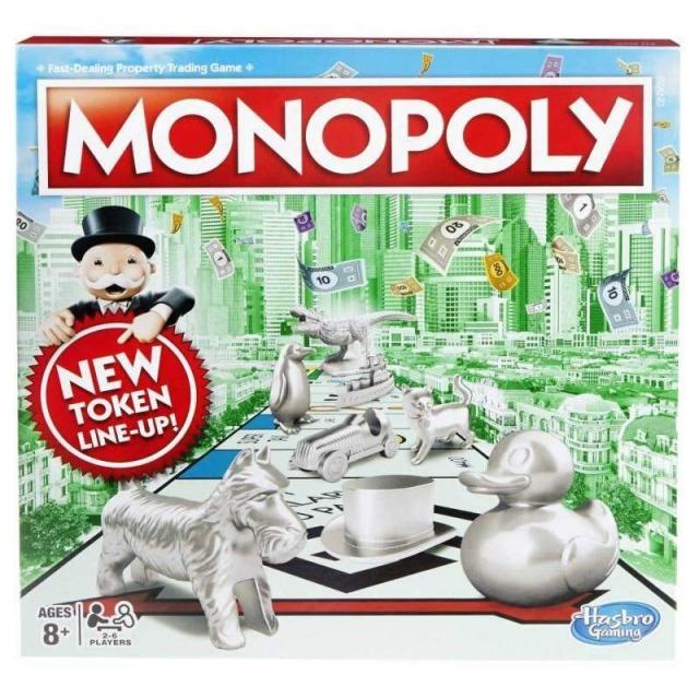 Obrázek produktu Monopoly Standard Nové figurky CZ , Hasbro C1009